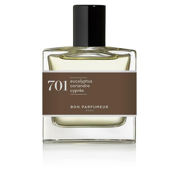 701: eucalipto / coriandolo / cipresso