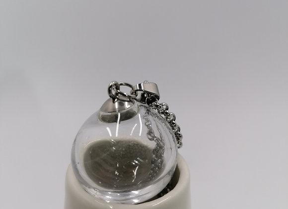 pendentif perle soufflée