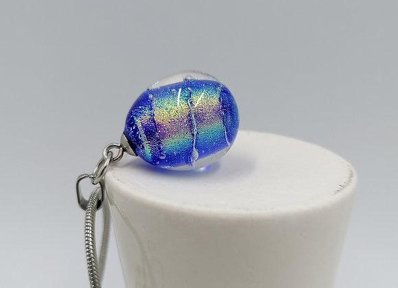 collier perle métallisée