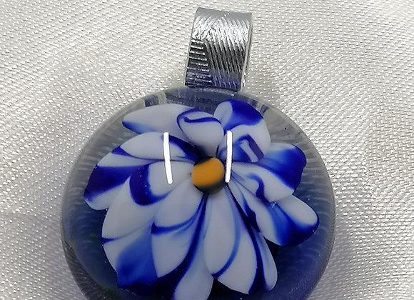 médaillon fleur