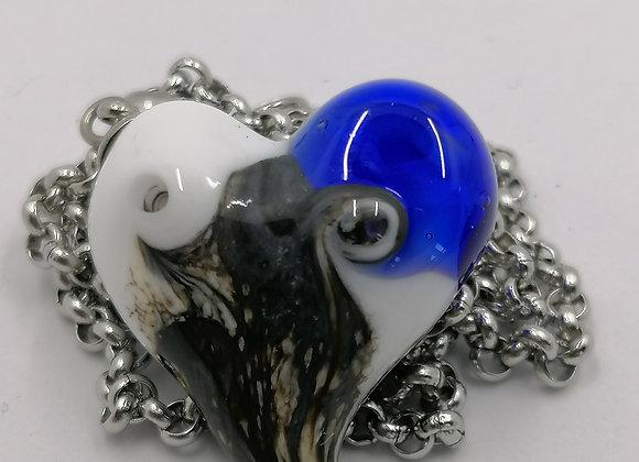 cœur bleu