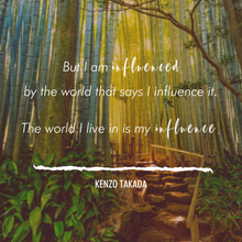 Kenzo Takada - the passing of a true influencer, and my personal inspiration