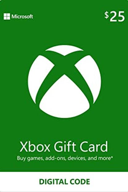 $25 Xbox E-Gift Card