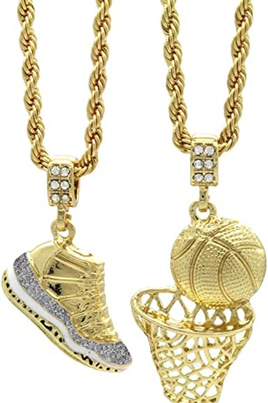 2 piece Chain Set (Gold Plated)