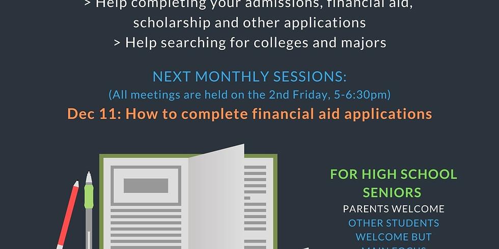 Teens: College Applications Workshop