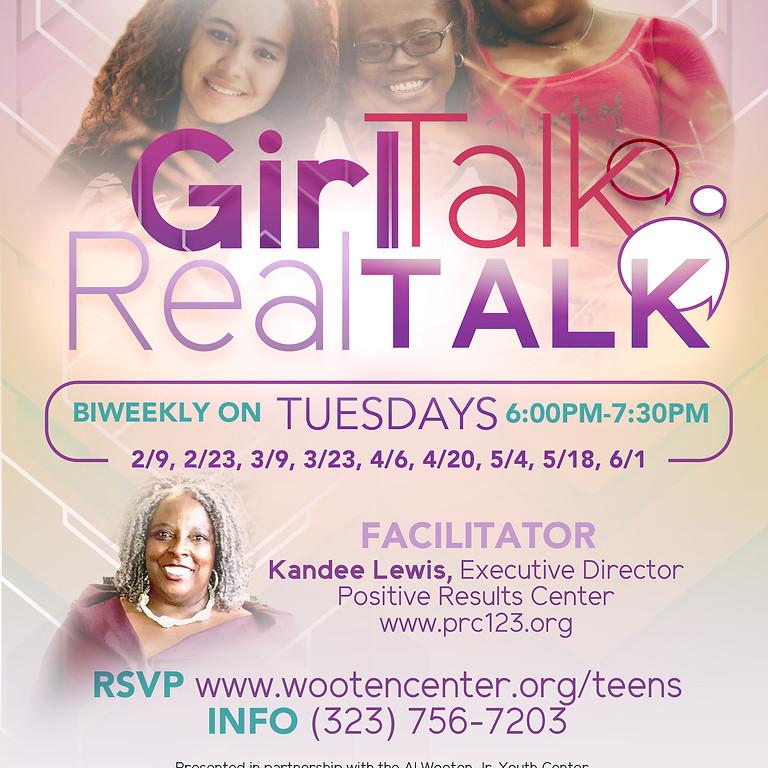 Girl Talk (13-18yrs old)
