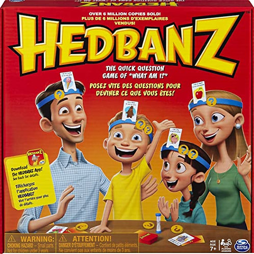 Hedbandz Picture Guessing Board Game