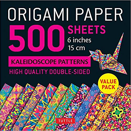 Origami Set (Paper & Instructions included)