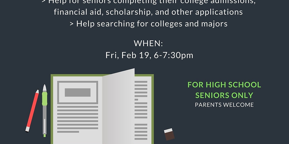 [CAN] College Applications Night