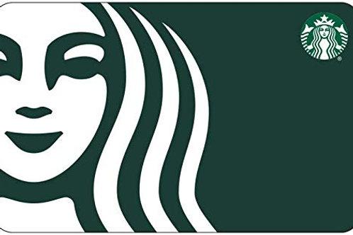 $25 Starbucks E-Gift Card