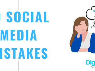 Ten Mistakes small businesses make with their social media