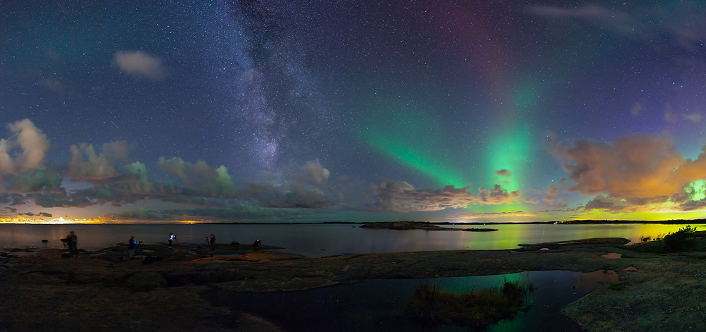 Northern lights in Inkoo, Finland - oscar keserci