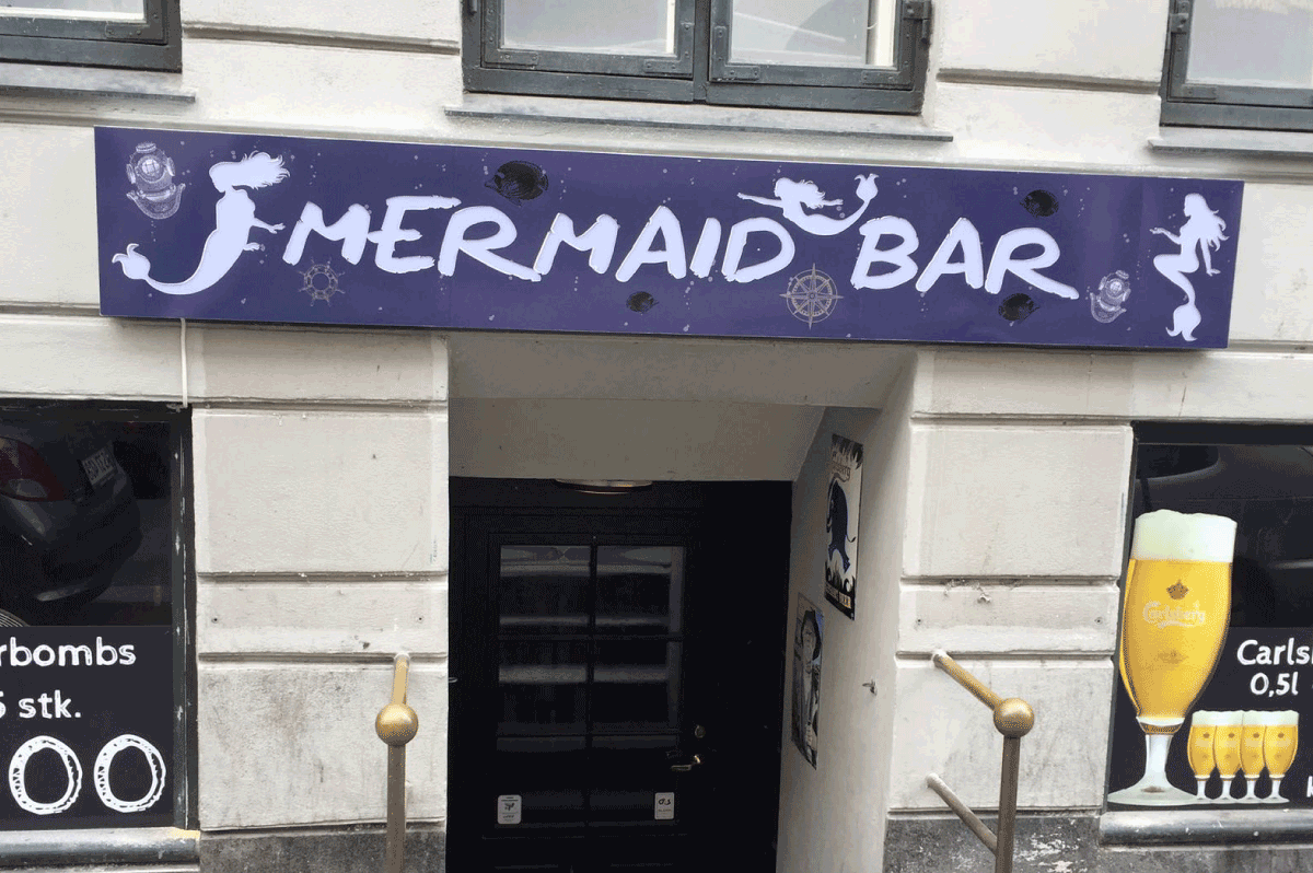 Mermaid Bar - Vesterbro City