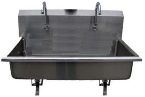 Lavamanos doble modelo LRD-VS-GP EMPOTRABLE