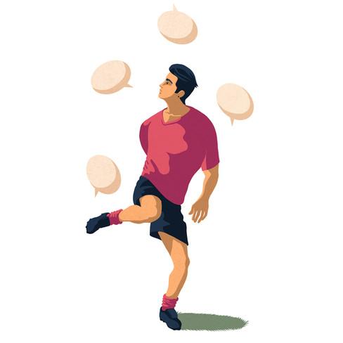 Juggling with language