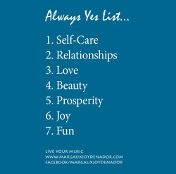 LYM Poster Always Yes List