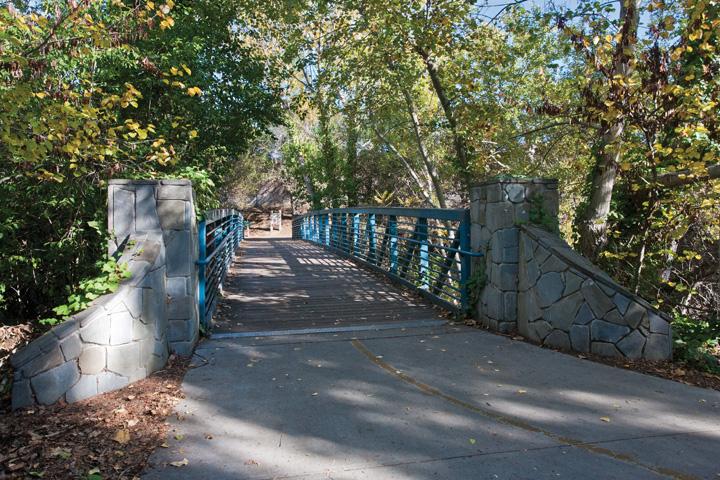 Stevens Creek Trail Bridge