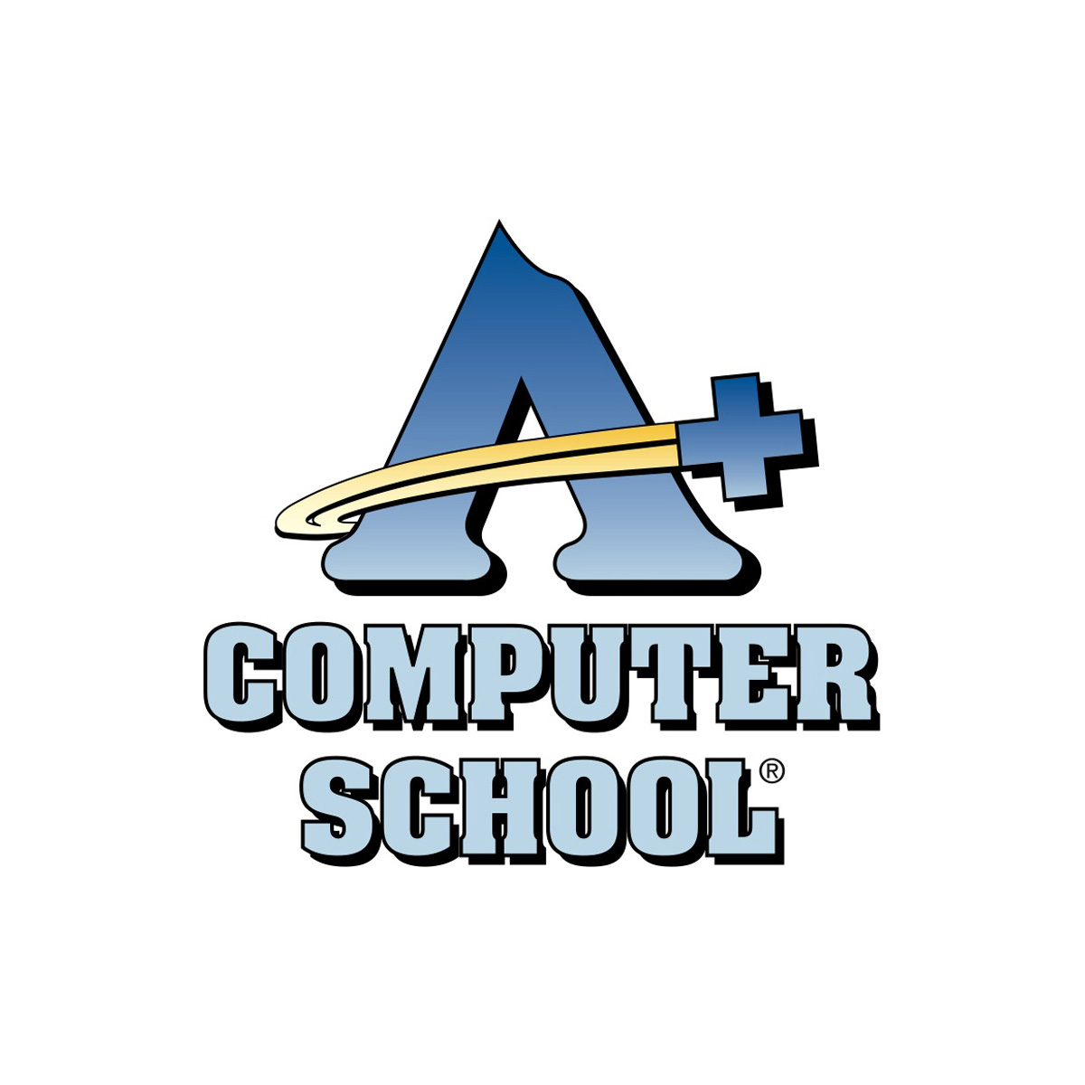 A+ Computer School Logo DeNador
