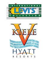 Logos by Dudley DeNador LEVIS and Kiele V Hyatt Hotels