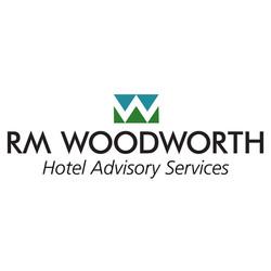 RM Woodworth Logo & Signature