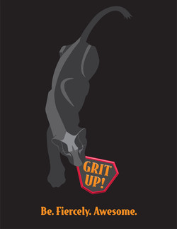 Grit Up Panther Logo DeNador w Grit Up 3 mjoy
