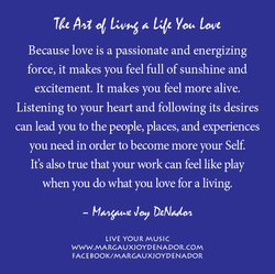LYM Poster The Art of Living a Life You Love