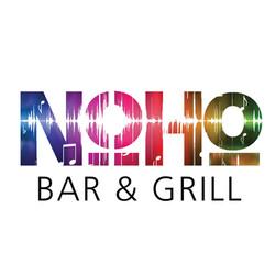 NoHo Bar & Grill Logo White