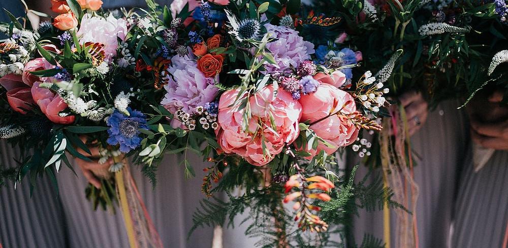 Floral bouquet - bridal bouquet - wedding photography - wedding photography checklist - nottingham wedding photographer