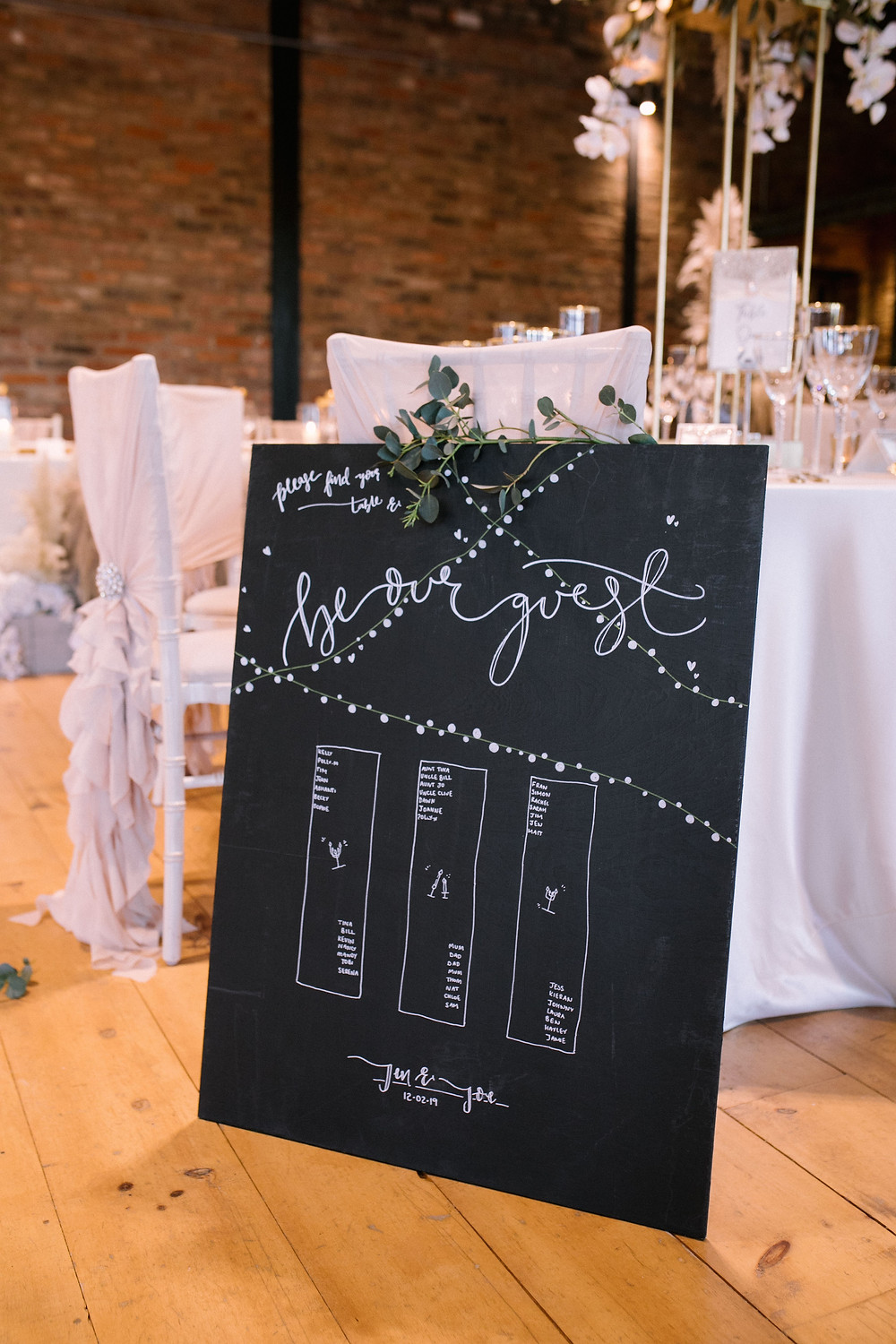 stress free wedding - wedding seating plan - sedding seating chart - how to