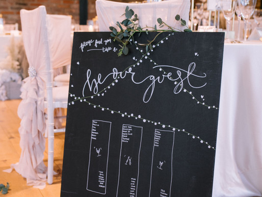 How to create the perfect wedding seating plan – leaving room for a stress-free Wedding Breakfast.