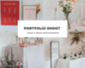 how to organise a styled wedding shoot.P