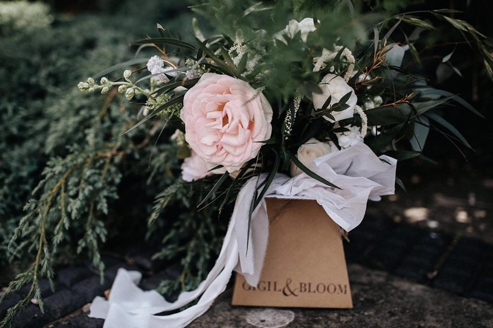stunning wedding bouquet box