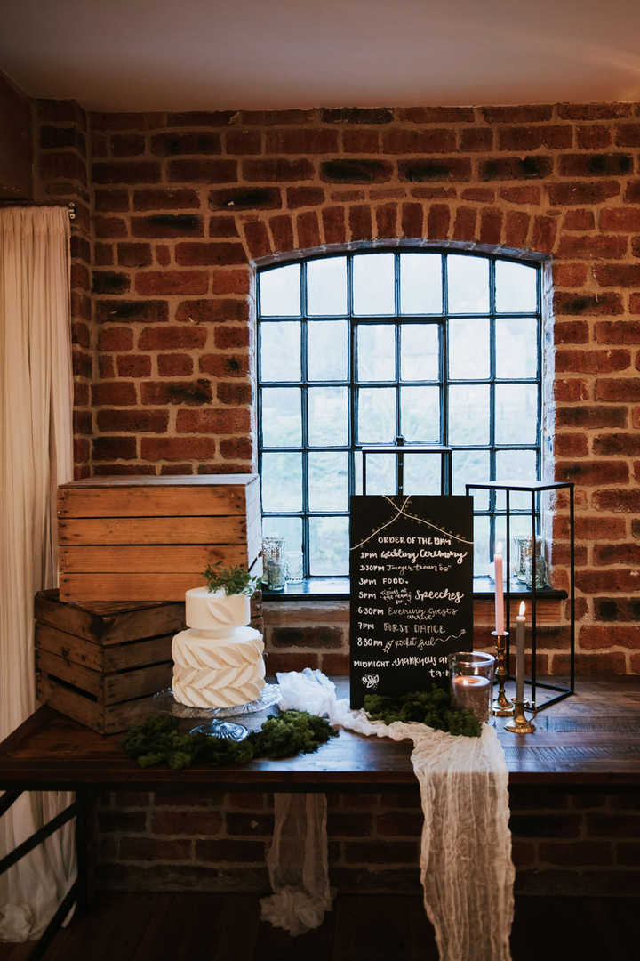 nottingham wedding - sustainable and low