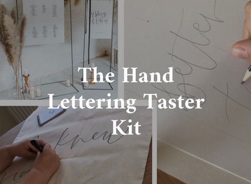 LEARN CALLIGRAPHY WITH WILD: The all new Taster kits are live