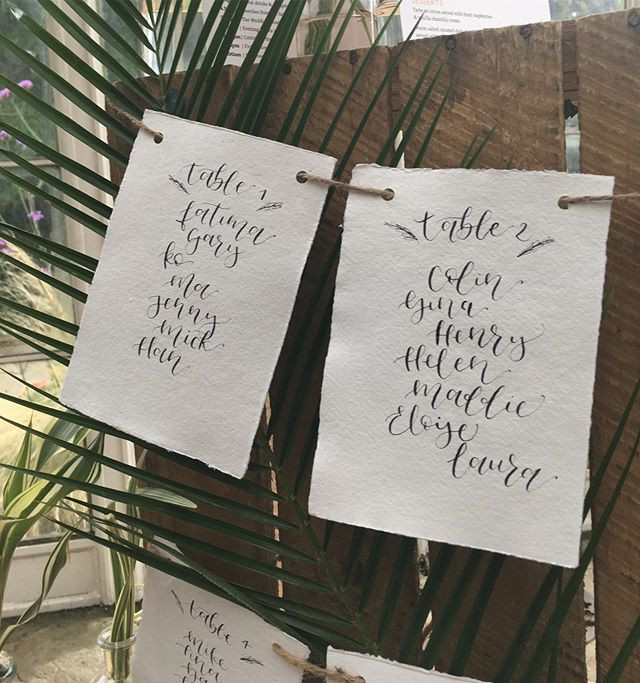 How to order bespoke Stationery and Signs with Wild Calligraphy GB