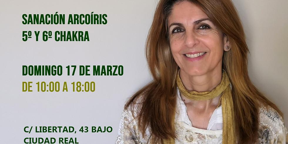 SANACIÓN ARCOÍRIS QUINTO Y SEXTO CHAKRA