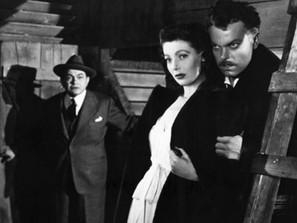 Orson Welles and John Wayne