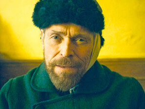 Willem Dafoe and AT ETERNITY'S GATE