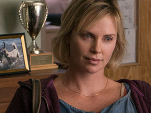 Charlize Theron at the Cinematheque