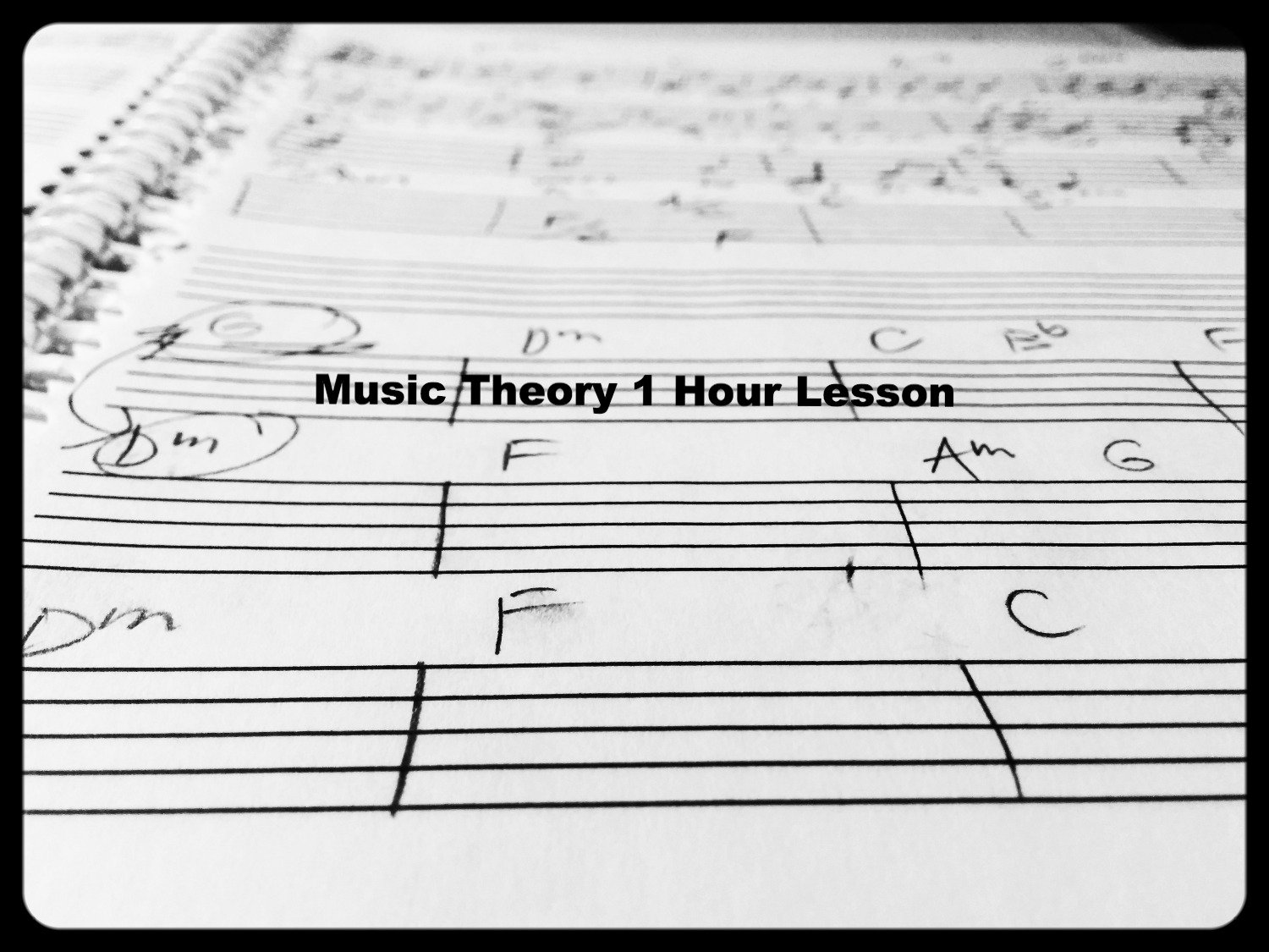 Music Theory Lesson 1 Hour