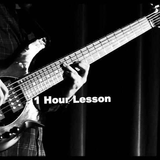 Elec. Bass Lesson 1 hour