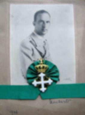 Quando Rei Umberto II  veio para Portugal em 1946 | Col.Deleg.Portugal. Direitos reservados.