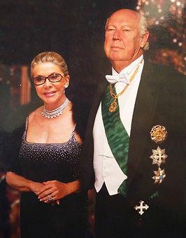 Principe Vítor Manuel IV de Saboia e a Princesa Marina de Saboia