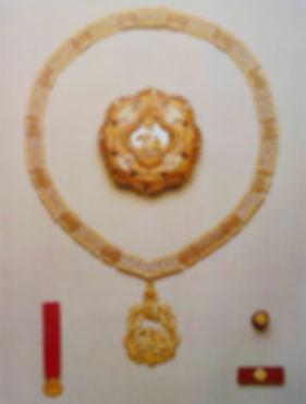 Insígnias da Ordem da Stssª Anunciação