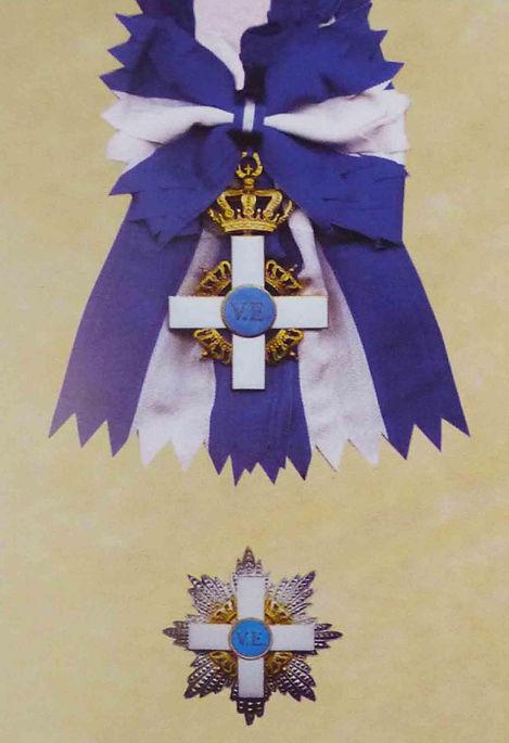Insígnias da Ordem de Mérito de Saboia