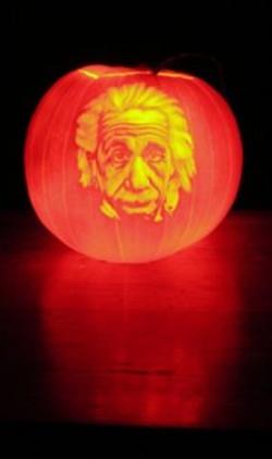 Einstein pumpkin