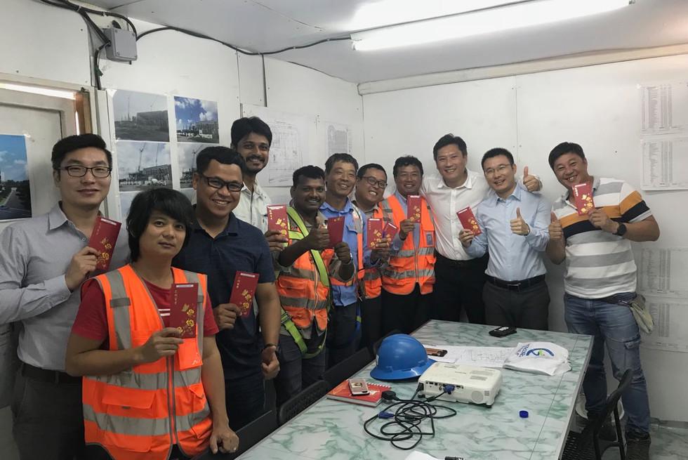Congratulations to Punggol and Tampines Teams