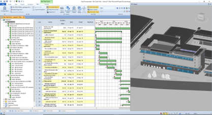 CONSTRUCTION PROGRAM AND SEQUENCE - 4D