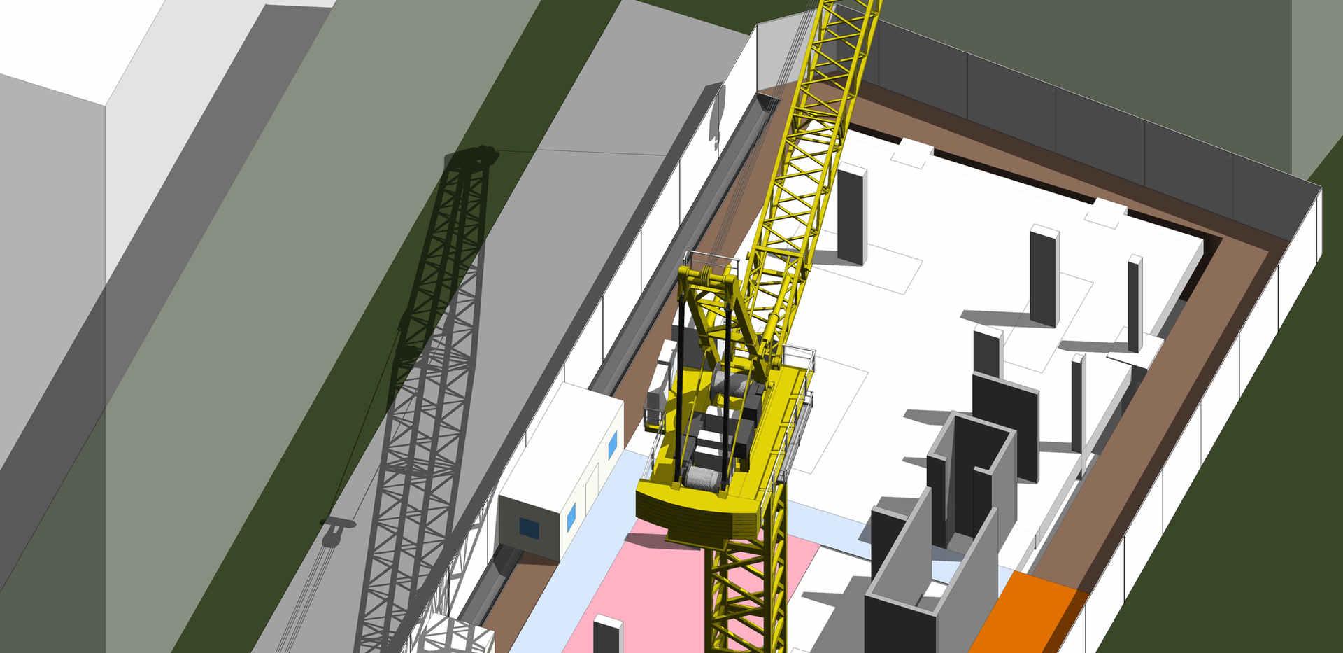 Site Utilisation - 3D View
