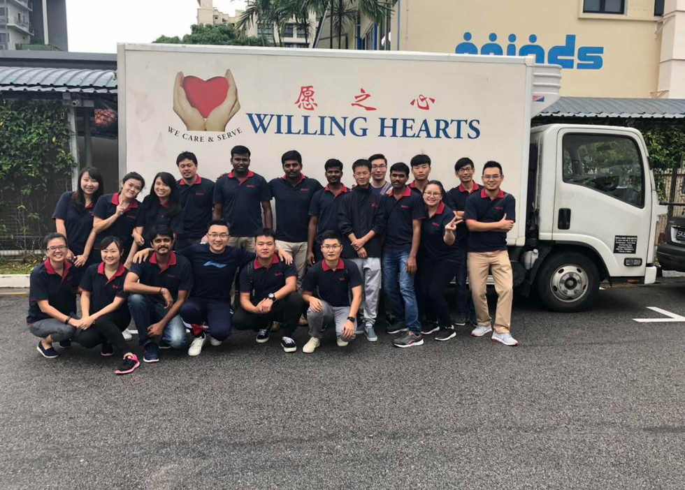 Volunteering at Willing Hearts Soup Kitchen